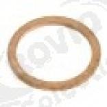 Garnitura cupru o 22,1 x 17 mm, grosime 1,5 mm