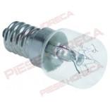 Bec pentru lampa cuptor pizza model E14, putere 15W, alimentare 220-235V, lungime 50mm, diametru de 22mm, temperatura maxima 500◦C