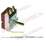 Termostat  t.max. 300◦C, 1 pol, 16A, ǿ 3,03mm, lungime capilar 1130mm