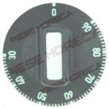Buton termostat ø 50mm, temperatura maxima 90°C