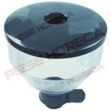 Container boabe cafea, diametru container 200mm, inaltime 215mm, diametru gaura de alimentare rasnita 46mm